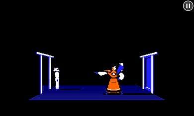 Karateka Classic:囚われたプリンセスを助けだそう。