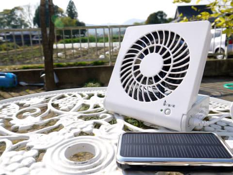 ソーラーバッテリーなら電気代要らず!