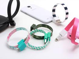 魅せるスマホアイテム!抜群にセンスがよく機能的なケーブル「Mohzy Loop USB Cable」