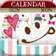 『ペタットカレンダー -女の子の毎日をデコるカレンダー・手帳』~シールを貼る感覚で...