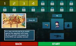 ミニ銃撃戦:カウンターストライク:ポイント1