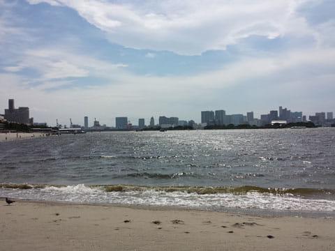浜辺:GALAXY S4で撮影