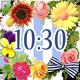 かわいい時計ウィジェット【無料】