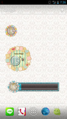 Battery Widget-Women