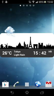 Metro Clock & Weather