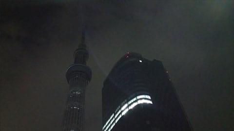 夜景:AQUOSの「HDRモード」で撮影