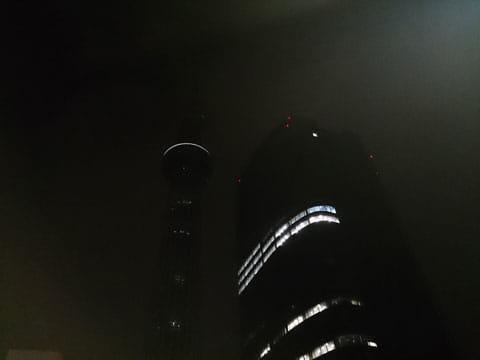夜景:Xperia Aで撮影