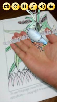 colAR Mix - 3Dぬりえアプリ:3Dとなった絵柄を画像として撮影したり、拡大/縮小することもできる