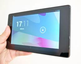 新型の「Nexus 7(2013)」をチェック!