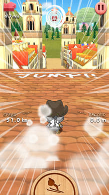 LINE Neko Jump:ポイント1