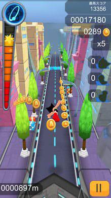 Astro Boy 鉄腕アトム ダッシュ:ジャンプやスライディングには豊富なアニメーションがあり楽しい。