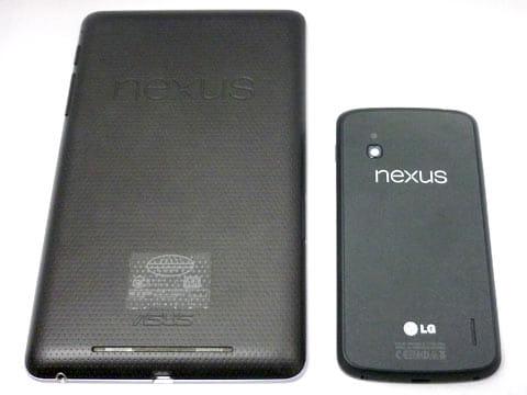 「Nexus 7(2012)」とのサイズ比較