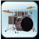 ドラムセット(Real Drum)