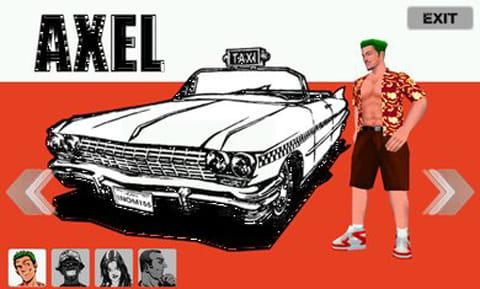CRAZY TAXI クレイジータクシー:キャラやミッションなど、原作をほぼ完全再現