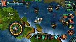 史上最強3D大海戦(パイレーツヒーロー):敵の本拠地へ突っ込み、敵の防衛線を打ち破れ!