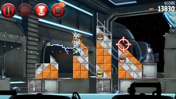 Angry Birds Star Wars II Free:個人的にシディアスの電撃ビリビリが使えるのが嬉しかった。