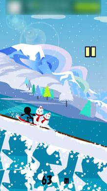 滑走!スノーボードダウンヒル:ポイント2