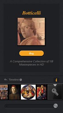 タイムライン -アートミュージアム:有料で作品の追加も可能