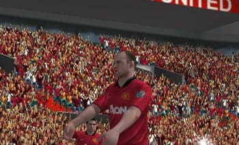FIFA 14 by EA SPORTS™:選手の顔もリアルに再現。