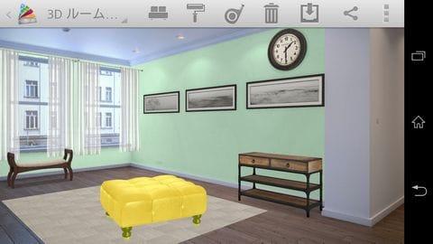 Homestyler Interior Design:指を使ってインテリアを回転させてたりしながら配置していく