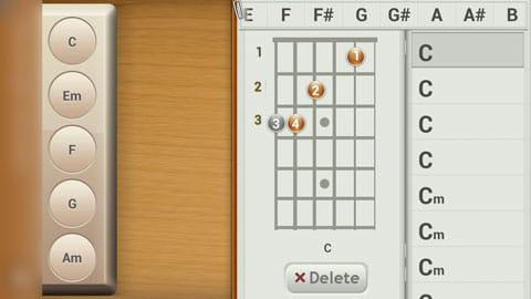 リアル・ギター 無料:ギターのコード表