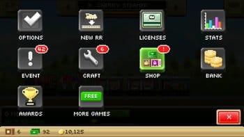 Pocket Trains:ゲーム内でためたコインやBUXを利用した新しい汽車を作ろう。