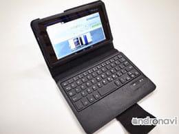 【NEXUS 7(2013)】+M Bluetoothキーボード レザーケース for New Nexus 7