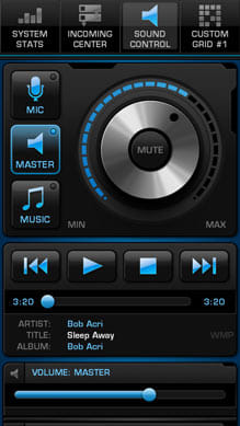 Power-Grid:音量調整やメディアプレイヤーのコントロールが可能な「SOUND CONTROL」