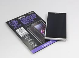 Xperia Z1専用の強化ガラスフィルム
