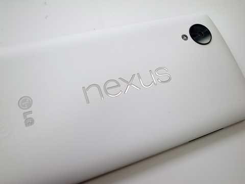公平を期すために「Nexus 5」で検証