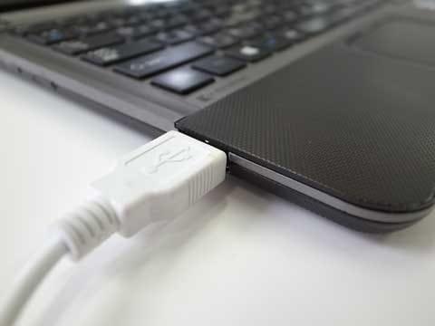 PCからのUSB充電