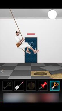 脱出ゲーム DOOORS3:突然、親父が登場!?この親父、前作にもいたな(笑)