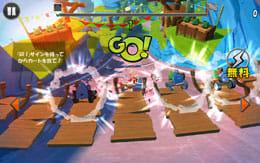 Angry Birds Go!:ポイント2