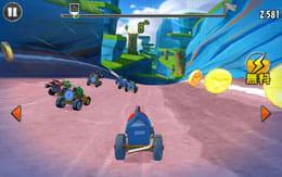 Angry Birds Go!:様々なライバルたちを抜いて1位を目指そう!