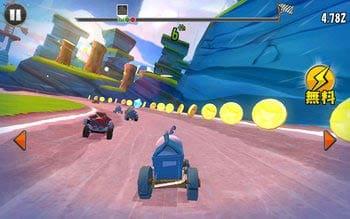 Angry Birds Go!:使用するキャラも変更できるよ!