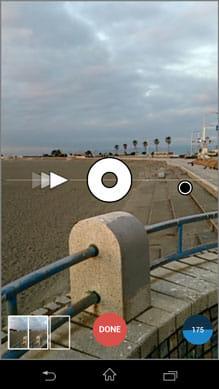 360:中央の白丸に黒丸をあわせる