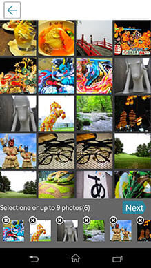 InstaMag - Magazine Collage:選択する写真は12枚までOK