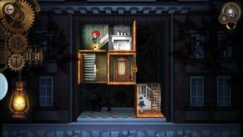The Mansion: 動く部屋のミステリー:最短コースを事前にシミュレーションすることがクリアのコツ