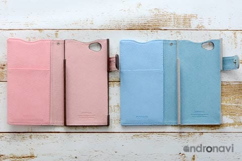 中は統一されたカラーなので、ピンクやブルー好きにはたまらない!