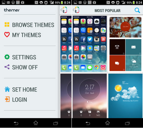 Themer Beta:「BROWSE THEMES」から、気に入ったテーマを探そう