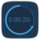 『Timer』~クールなデザインと直感的な操作が魅力のシンプルなタイマーアプリ~