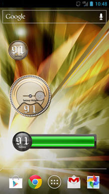 Battery Widget-Mens