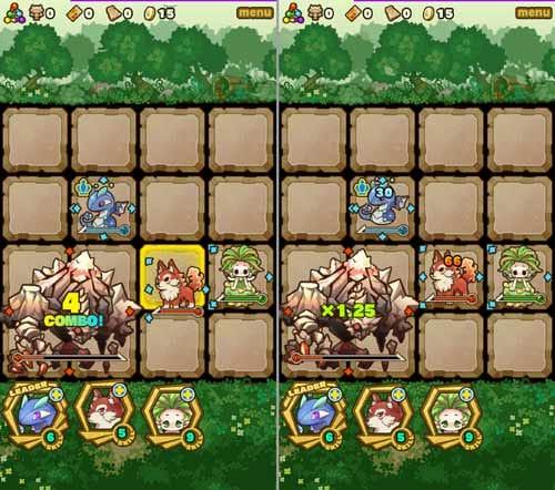 サモンズボード:敵を囲みコンボを決めよう