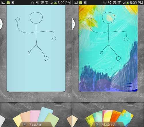 Sketchlens:カラフルな色からアーティスティックなものまで多彩