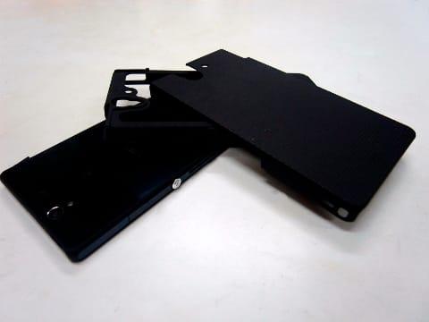 手に入れやすいケースの代表格、CASE-MATEのHYBRID TOUGH CASEシリーズ(XPERIA Z用)