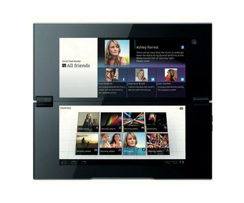 Sony Tablet P。今でも珍しい2画面ディスプレイのタブレット