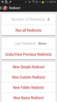 Redirect File Organizer