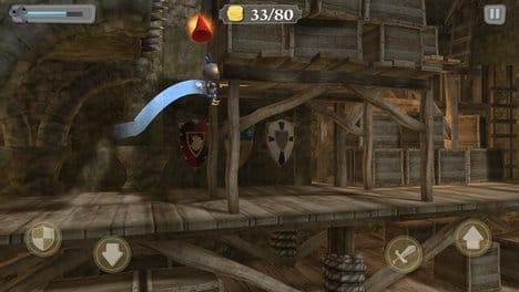 ねじ巻きナイト2(Wind-up Knight):死にゲーっぽいだけじゃなく、隠しアイテムを見つける要素もいい。