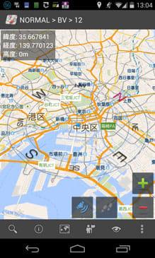 GeoCompass 地図上のコンパス