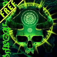 神秘的なスカルの無料のライブ壁紙